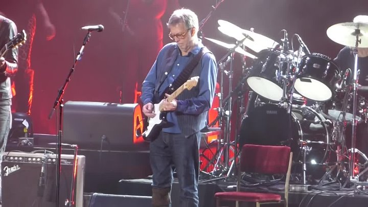 """Before You Accuse Me"" Eric Clapton & Gary Clark Jr & Jimmie Vaughn.New York 3.19.2017"