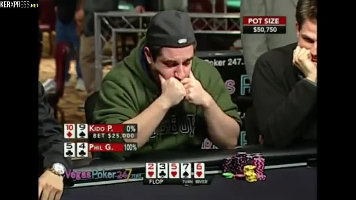 'DON'T show the bluff'! - A poker video