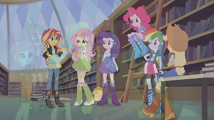 My Little Pony Equestria Girls Friendship Games RUS (Русская озвучка)