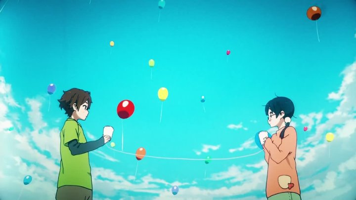 Аниме: Tamako Love Story Музыка: The White Stripes – 300 M.P.H. Torrential Outpour Blues