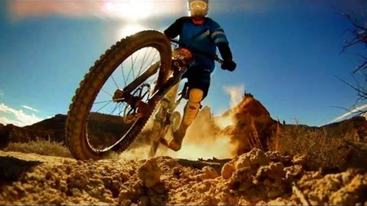 GoPro HD HERO Camera: Red Bull Rampage 2010