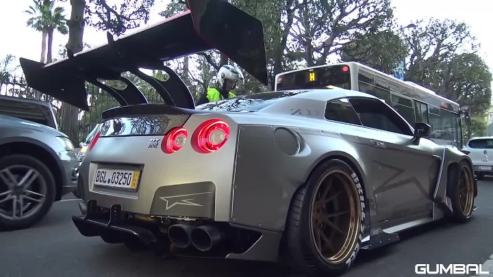 1850HP NISSAN GT-R BUSTED BY THE POLICE!