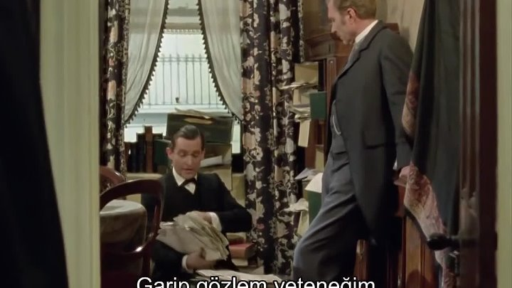 The Adventures Of Sherlock Holmes 2.Sezon 2.Bölüm Türkçe Altyazılı The Greek Interpreter