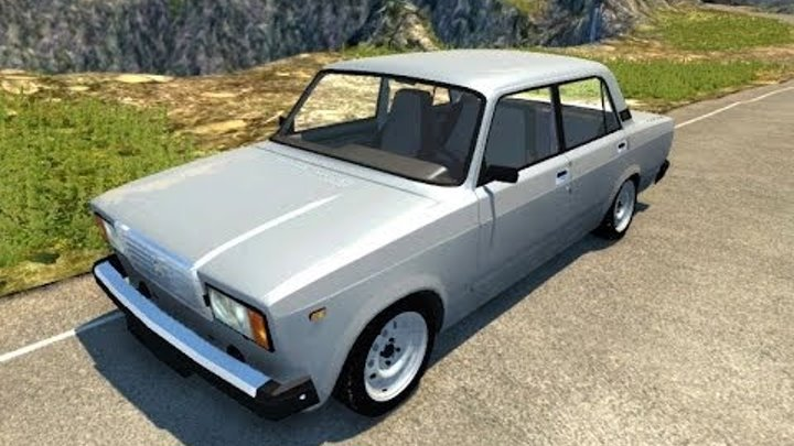 BeamNG.Drive Mod : Lada VAZ 2107 (Crash test)