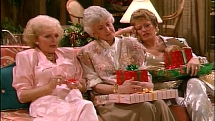 The Golden Girls 2×11 : 'Twas the Nightmare Before Christmas Welcome to the movies and television