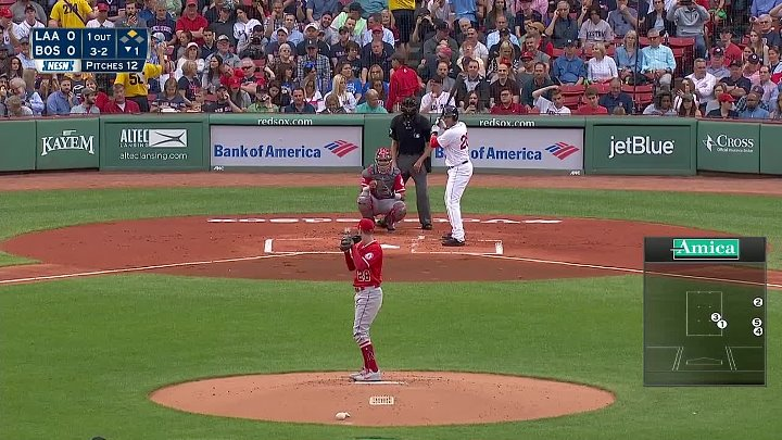 Boston Red Sox - Los Angeles Angels 27.06.18