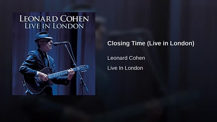 Closing Time (Live in London)