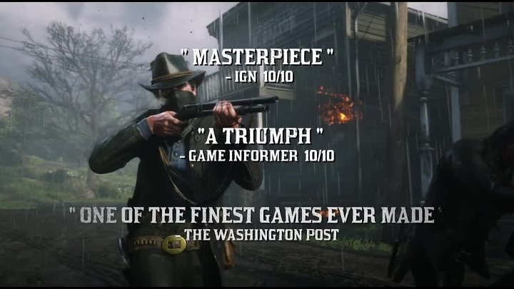 Red Dead Redemption 2 - Accolades Trailer ¦ PS4
