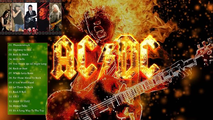 AC DC Greatest Hits - The Best Of AC DC