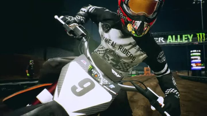 Monster Energy Supercross — The Official Videogame 2 — трейлер запуска
