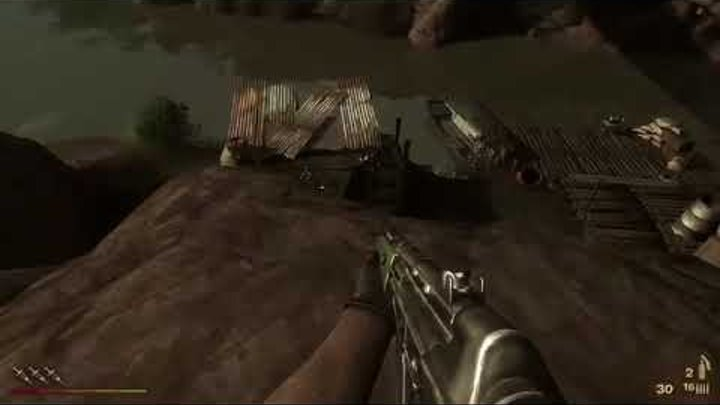 "DJ ASCOOT ""2 War Cry"" & Computer game Far Cry 2 PC 1080p Gameplay at Max Settiugs"