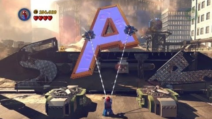 LEGO Marvel Super Heroes 100% Guide #1 - Sand Central Station (All 10 Minikits, Stan Lee in Peril)