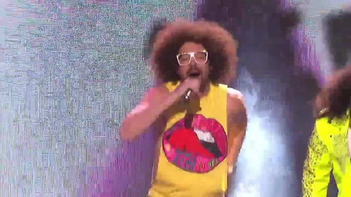 LMFAO - Sorry For Party Rocking @ American Idol 2012 720p
