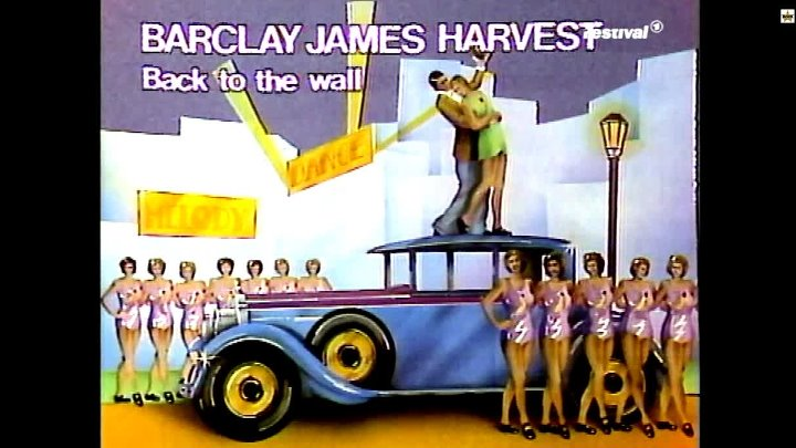 Barclay James Harvest - Back to the Wall • ( From Bananas 1981.Remastered )