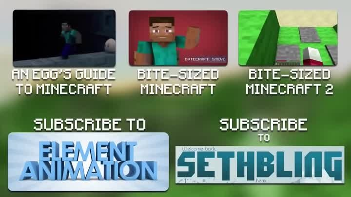 [Майнкрафт Пародия] Bite-Sized Minecraft 3 (Rus by Rissy)