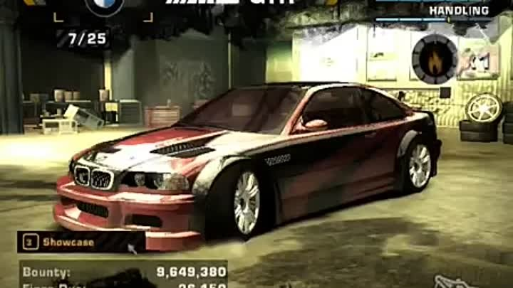 Need for Speed™ Most Wanted My Career Cars