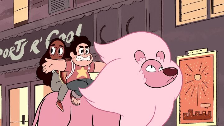 Steven Universe - 1x17 - Lion 2 The Movie
