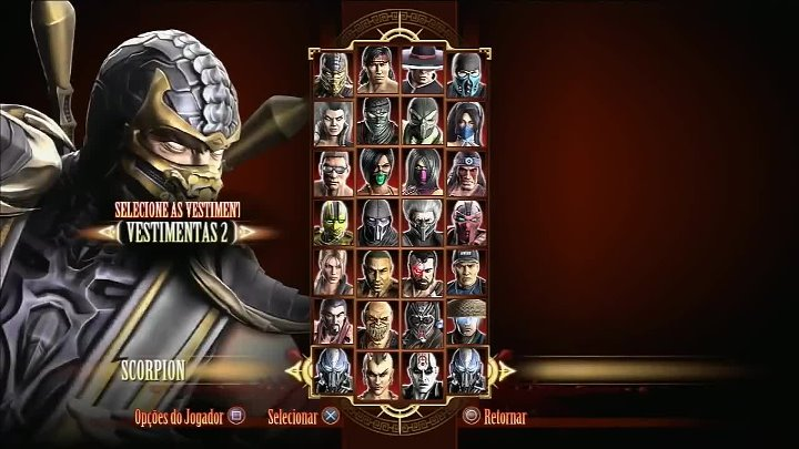 Mortal Kombat 9 Scorpion.All fatalities +X-RAY fatallity