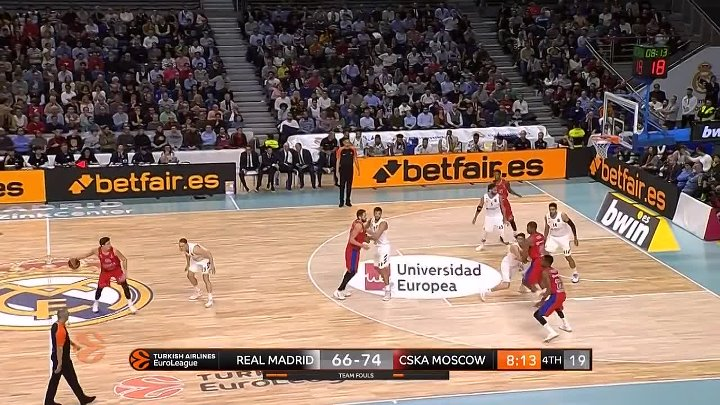 Real Madrid - CSKA Moscow Highlights _ Turkish Airlines EuroLeague RS Round 10