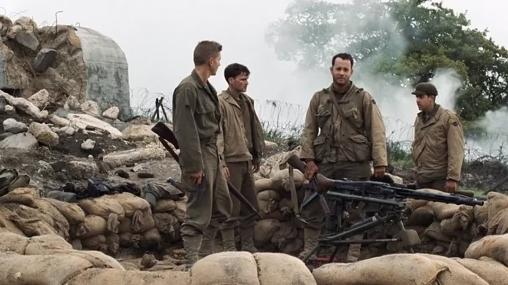"""To Defuse a Tense Situation, Miller's Address to His Unit on 'Saving' Private Ryan: """"Man Means Nothin' to Me"""""""