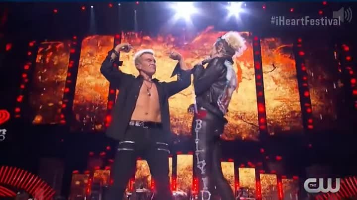 Billy Idol and Miley Cyrus Rebel Yell 23 09 2016_HIGH.mp4