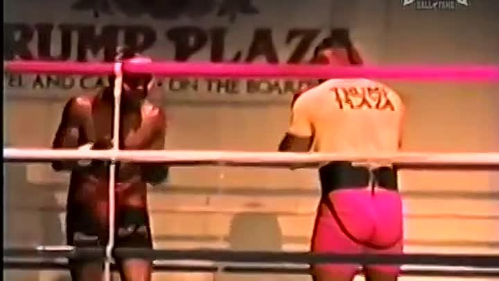 Mike Tyson vs Oliver McCall 1987