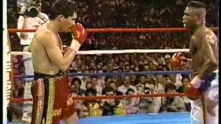 Julio Cesar Chavez KNOCKS OUT Meldrick Taylor SweetFights.com