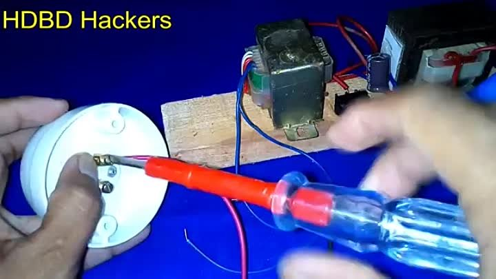 How to Make Energy Generator 3.7V to 200 Watt - DIY Simple Idea Science project Experiments
