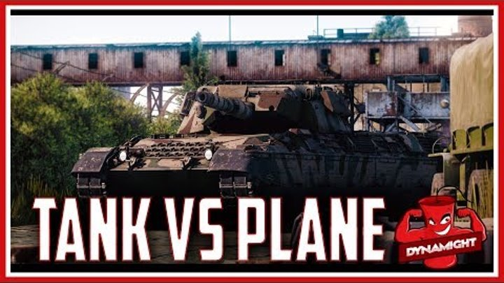 War Thunder - Perfectionist Ep.1 - Tank vs Plane shots only
