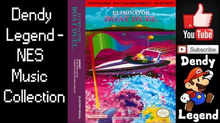 Eliminator Boat Duel NES Music Song Soundtrack - Race Theme 2 [HQ] High Quality Music