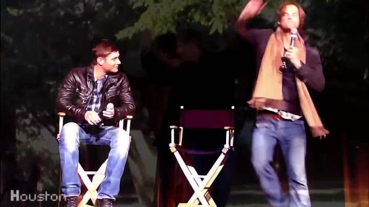Supernatural Cast Likes To Move It