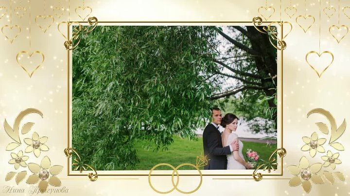 Наша свадьба| our wedding| Project for ProShow Producer