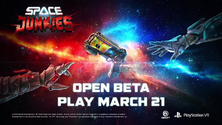 Space Junkies - Never Give Up Open-Beta ¦ PS VR