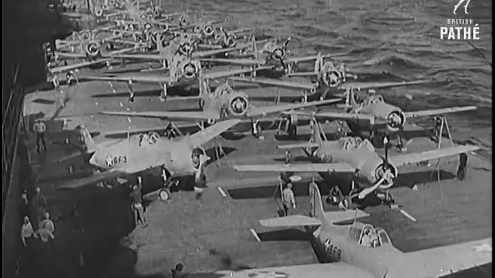 USS Hornet Sunk by Japanese Torpedoes During 10-Hour Battle (1943) _ War Archives