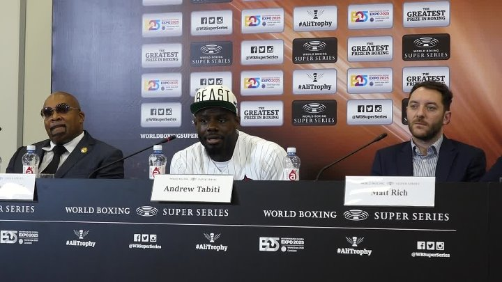 01198 НОВОСТИ WORLD BOXING SUPER SERIES - Andrew Tabiti 14 10 18 and The МИККИ