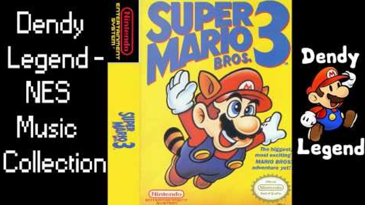 Super Mario Bros 3 NES Music Song Soundtrack - World Map 7 [HQ] High  Quality Music