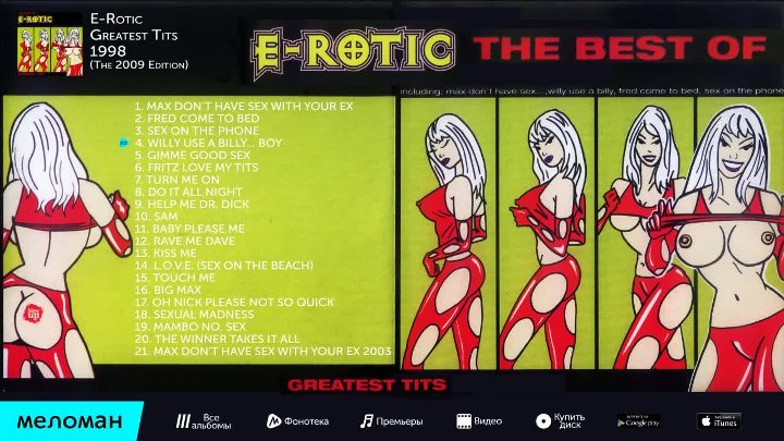 E Rotic ‎– The Best Of - The Winner Takes It All