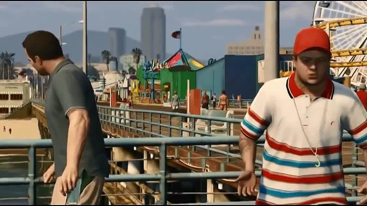 The Chain Gang of 1974 - Sleepwalking Official Music Video 'Grand Theft Auto V'