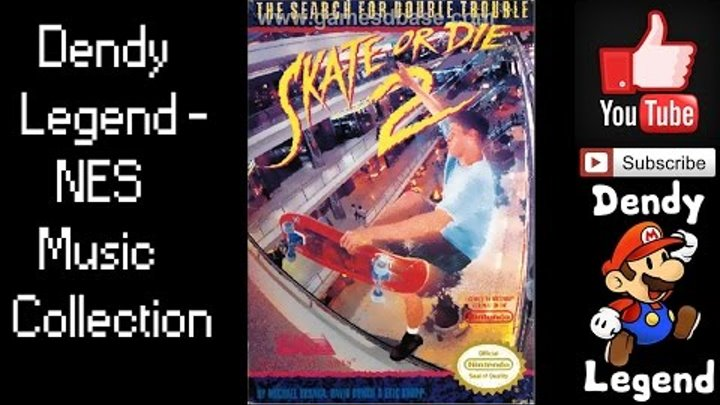 Skate or Die 2: The Search for Double Trouble NES Music Soundtrack - Stage Theme The Sewers [HQ]