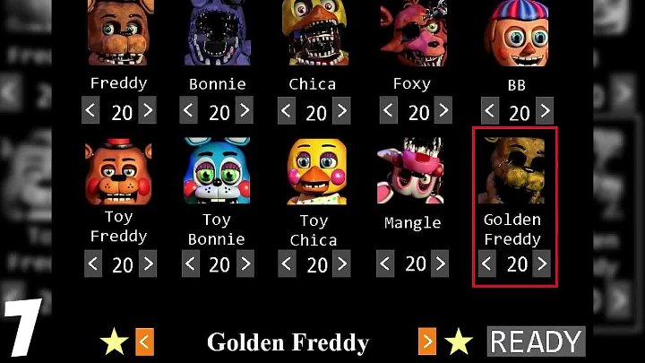 Пасхалки Five Nights At Freddy's - 10 фактов о Golden Freddy!