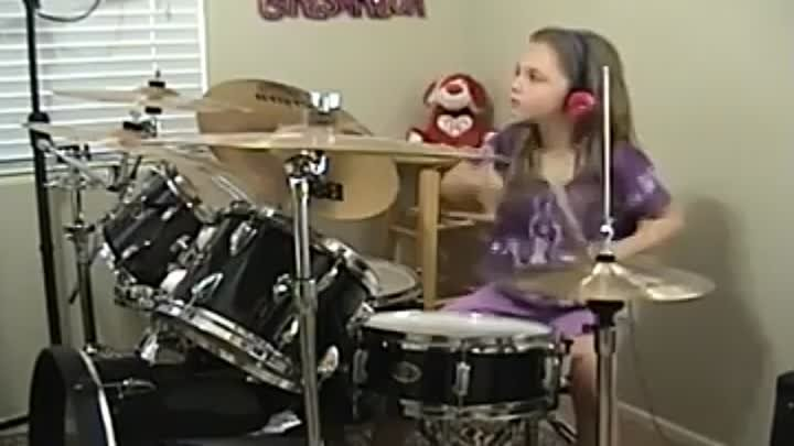 AC-DC Who Made Who Live 92 a Drum Cover by Emily