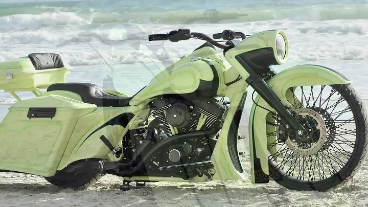 2013 Custom Harley 26 Big Wheel Bagger
