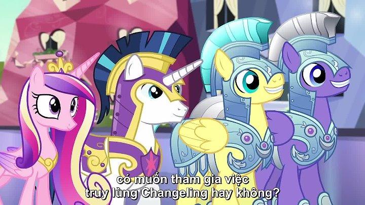 MLP SS6 Ep 16 - The Times They Are a Changeling