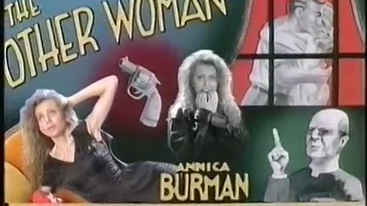 ANNICA BURMAN - I CAN'T DENY A BROKEN HEART [OFFICIAL MUSIC VIDEO 1989]