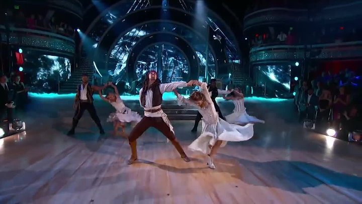 Dancing with the Stars - Pirates of the Caribbean (2015) HD