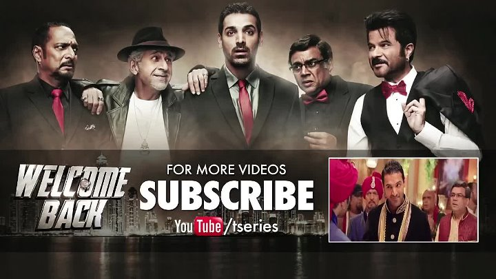Nas Nas Mein FULL VIDEO Song _ Welcome Back _ T-Series
