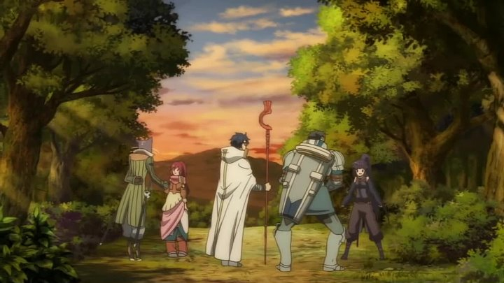 Аниме Лог горизонта _ Log Horizon 1 сезон (1 часть)