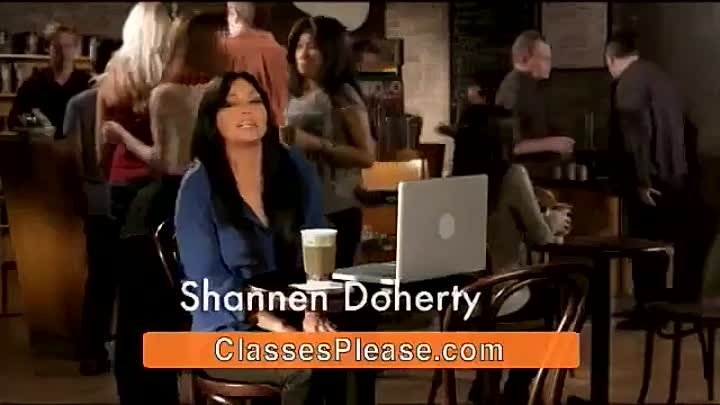 Shannen Doherty - Education Connection Commercial