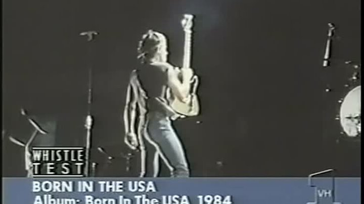 Bruce Springsteen - Born in The USA @ 1984 VH1