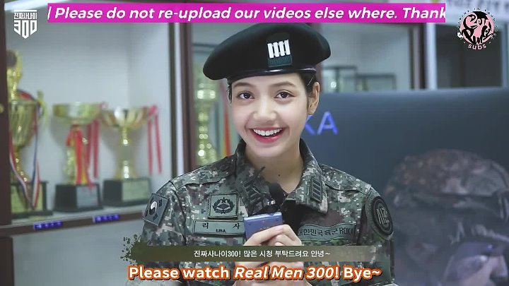 Beulping Subs Engsub 180830 Lisa On Real Men 300 Poster Photoshoot